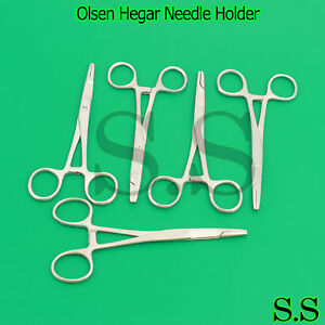 20 Pieces Olsen Hegar Needle Holder 6 5 Surgical Dental Instruments