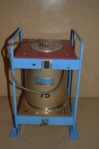 Broman Model 860 275 Temperature Calibrator Thermal Unit In Wood Case