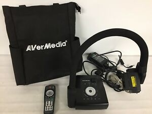 Avermedia Avervision Cp300 Digital Document Camera W Power Supply