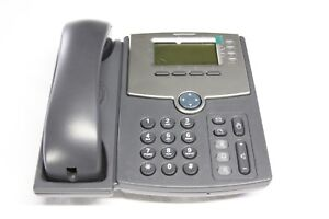 Cisco Spa504g 4 line Ip Phone New Open Box With Power Supply