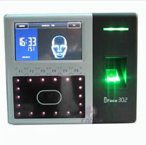 Zksoftware Iface302 Biometric Identification Time Attendance Face Reader Finger