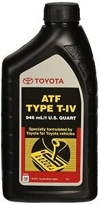 Factory Oem Toyota Atf Type T Iv Automatic Transmission Fluid Oil Lexus