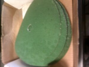 25 Pcs Norton Greenlyte Plus 9 X 7 8 Disc Sanding Grinding 24g 24 Grit Grinder