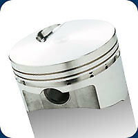 142980 Srp Pistons Open Chamber Flat Top 496 Bb Chevy 4 310 Bore 8 7 1 Comp