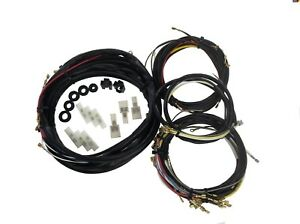 1956 1957 Vw Volkswagen Beetle Convertible Complete Wiring Harness Made In Usa