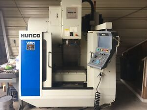 Hurco Vm1 Cnc With Part Probe And Tool Probe