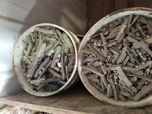 50 lbs Of Used Scrap LEAD Wheel Weights. (See description)