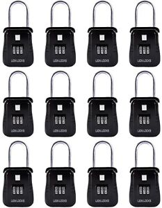 Lion Locks Alpha Key Storage Realtor Lock Box With Set your own Combination 12