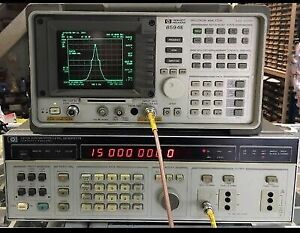 10hz 20 9mhz Sweep Signal Generator 3336a Hp