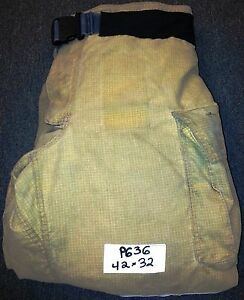42x32 Pants Firefighter Turnout Bunker Fire Gear W Liner Globe Gxtreme P636