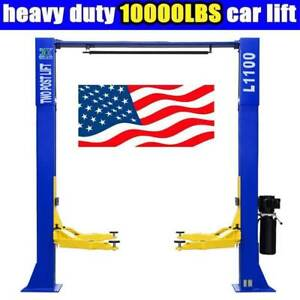 10 000lbs Car Lift L1100 2 Post Lift Car Auto Truck Hoist Great Quality
