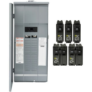 Square D Hom3060m200prbvp Homeline 60 ckt 30 sp 200a Main Breaker Load Center