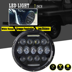 Dot 7 Inch Led Motorcycle Headlight Daymaker Projector Bulb For Harley Davidson