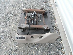 1999 2007 Ford Super Duty F250 Excursion Heated Power Seat Track W Switch Driver
