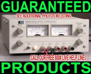 Agilent Hp 6236b Triple Output Variable Regulated Metered Dc Bench Power Supply