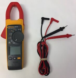 Fluke 376 Fc True Rms Clamp Meter With Leads Handle Tool Trms