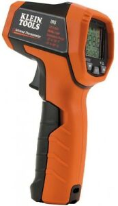 Klein Tools Dual Laser Infrared Thermometer Digital Lcd Temperature Data Hold