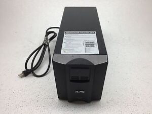 Apc Smart ups 1000va Battery Backup Smt1000 With Wiring No Batteries Tested