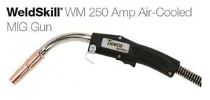 Tweco Weldskill 250 Amp Mig Gun 15 Ft Fits Lincoln Back end