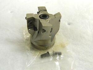 Walter valenite Indexable Square Shoulder Face Mill 1 1 2 Cut Diam 5051549