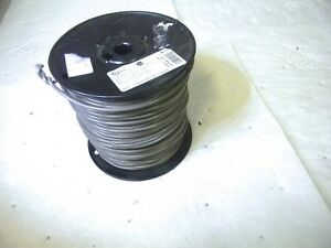 Southwire 12 Awg Mtw Copper Wire Gray Stranded Pvc Jacket 500 Ft 41104509 Usa