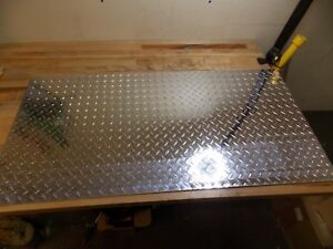 Professional Aluminum Diamond Tread Plate 0 08 X 24 X 48 Alloy 3003