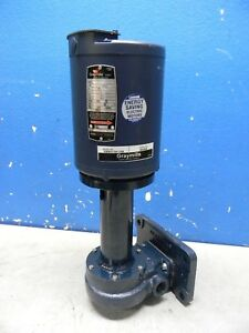 Graymills 1 4hp Cast Iron Flanged Outside Suction Recirculating Pump 115v