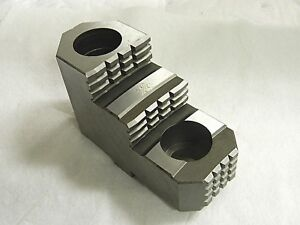 Bison Toolmex Hard Top Jaw For 20 Chuck Qty 1 Pc 7 890 220