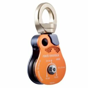 Rock Exotica Omni block 1 5 Pulley Single Steel Sheave