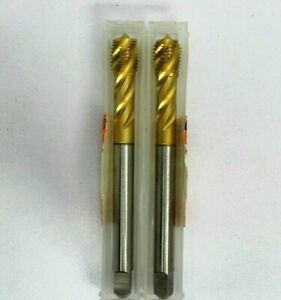 Emuge 7 16 20 Unf 2b 2enorm z e Tin Tap Cu5137005046 Lot Of 2 Taps Brand New