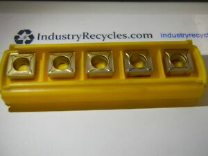 Kennametal Scmt433mf Ku30t Turning Inserts Qty 5