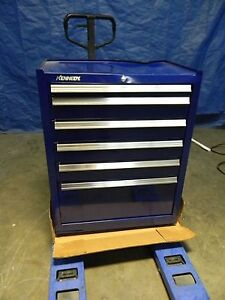 Kennedy Maintenance Pro 6 Drawer Tool Storage Roller Cabinet Blue Steel 2702mpbl