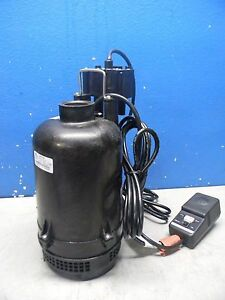 Little Giant Automatic Sump Pump W Intelliplug 1 3 Hp 115v 45 Gpm