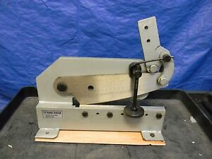 Professional Bench Top Mount 12 Hand Shear