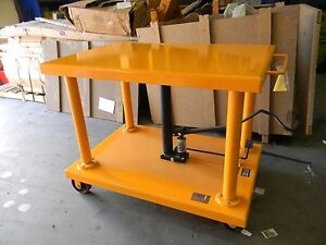 48 X 32 Hydraulic Post Lift Table 2000lb 1ton Capacity Parts repair