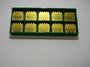 Tool flo Cr 8npt 4e tf8996 Gp50 M3648996n4c Carbide Threading Inserts Lot Of 10