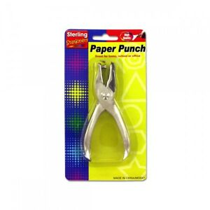 Single Hole Paper Punch