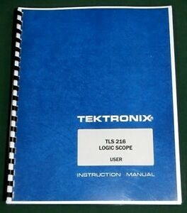 Tektronix Tls 216 User Manual Comb Bound Protective Covers