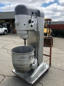 Hobart V1401 140 Qt Mixer 5hp Timer 208v 3 Phase Bowl Hook