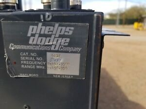 Phelps Dodge Uhf Radio Repeater Duplexer Model 6112