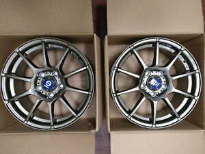 2x Sparco Assetto Gara Wheel 16x7 5x114 3 Et 45 Bronze Finish