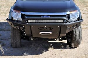 Add F253471200103 100 Back Stealth Front Winch Bumper 11 17 Ford Ranger T6
