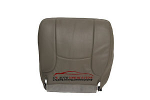 2002 2003 2004 2005 Dodge Ram Driver Bottom Replacement Vinyl Seat Cover Gray