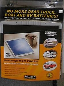 Batterysaver Pro5w Solar Powered Battery Charger