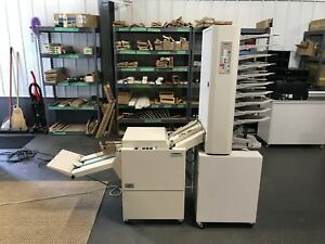 Plockmatic Bm61 Bookletmaker W 310 Collator 10 Bin Fully Serviced