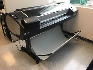 Excellent Condition Hp Designjet Z5600 Wide Format Printer