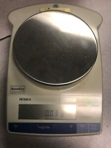 Mettler Toledo Monobloc Pb1502 s Precision Weighing Scale