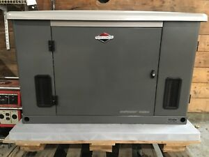 Briggs Stratton 15kw Standby Generator New Lp ng Must Sell 040234