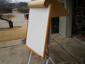 Adjustable Large Whiteboard Dry Erase Board Easel Metal Frame Professional Exccd