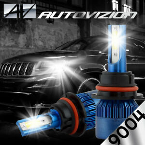 Autovizion Led Hid Headlight Kit 9004 Hb1 6000k 1999 2001 Dodge Ram 1500